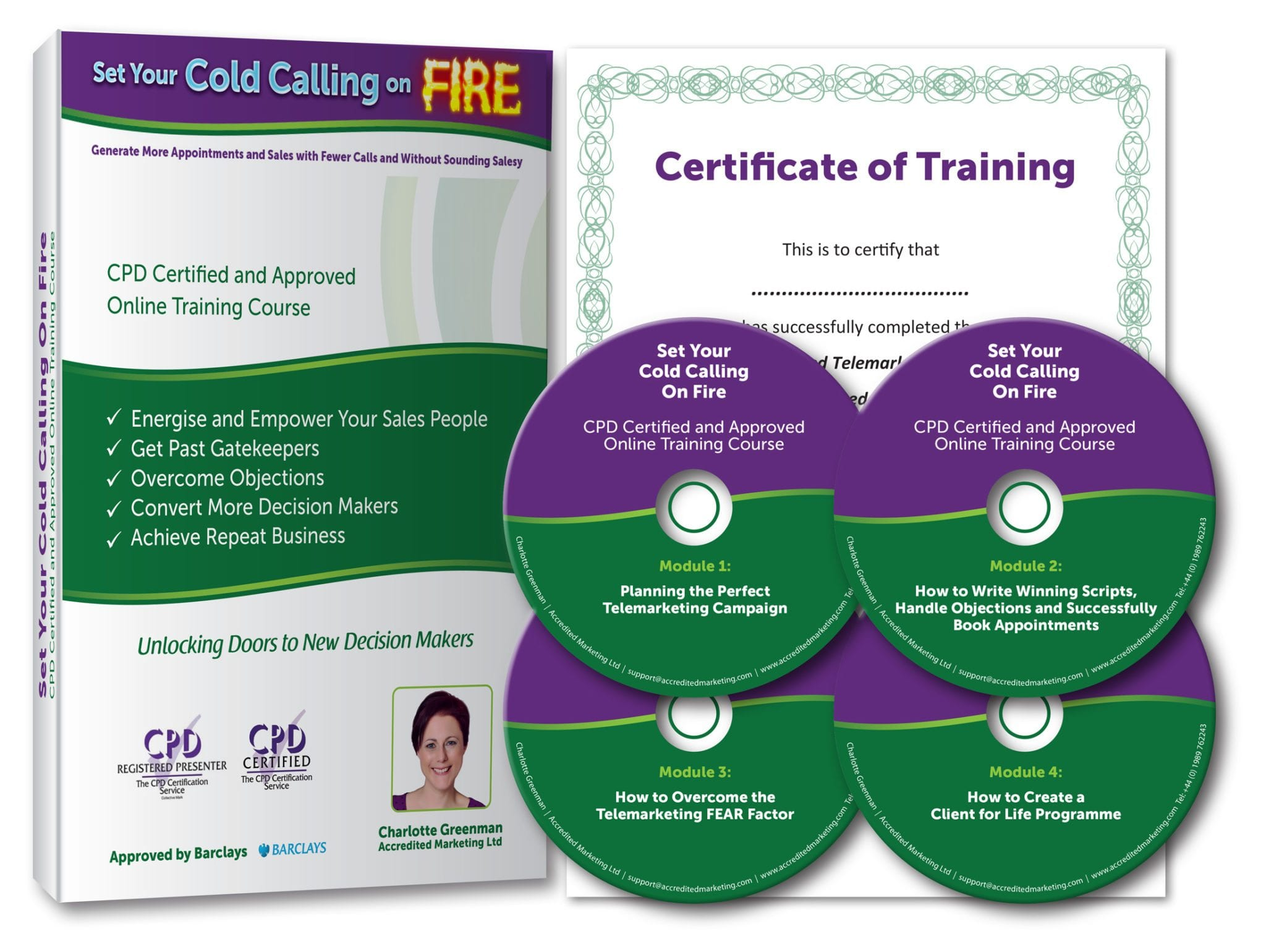 Set Your Cold Calling on Fire Online Telemarketing, Telesales and Appointment Making Training Course CPD certified